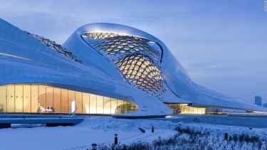 China's Harbin Opera House