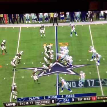 Matt Cassel Throws The Worst Interception In Cowboys' History
