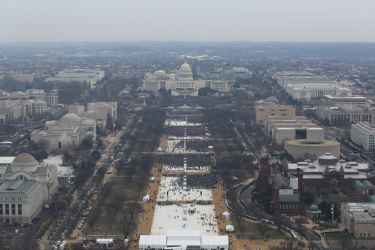 Trump's 1.5 Million Inauguration Crowd Officially Debunked by NPS Photos, Half Smaller Than Obama's