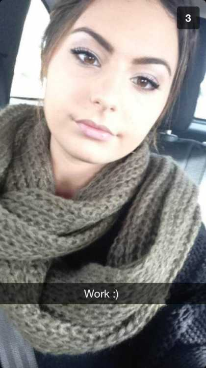 I think this girl is the #HottestGirl on Snapchat ...