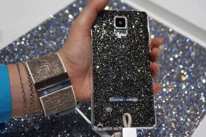 """The """"Swarovski for Samsung"""" Features Galaxy Note 4 and Gear S Tizen Encrusted With Luxury"""