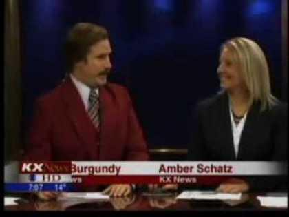 Ron Burgundy Anchor A Real Newscast In North Dakota   #RonBurgundy