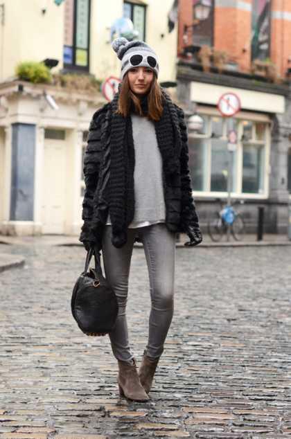 I like this winter fashion... #WinterFashion