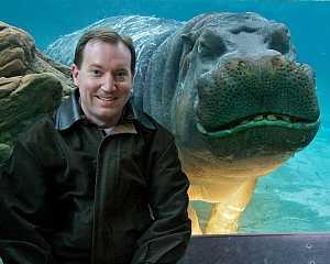 #Funny Hippo #Photobomb
