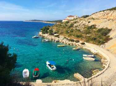 Driving along the Coast of Croatia