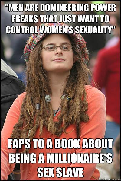 College Liberal on #50ShadesOfGrey