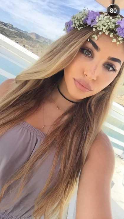 Chantel Jeffries Snapchat Username @chanteltaleen