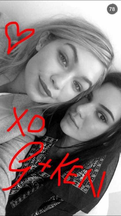 Gigi Hadid Snapchat Username @doublegiforce