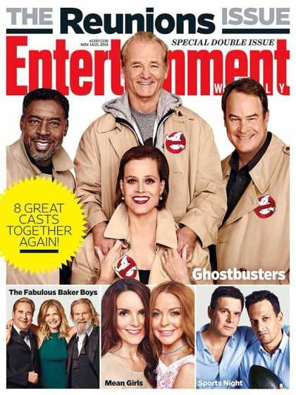 'Ghostbusters' 30th Year Anniversary. Look at what the casts looks like now. Yeah, they got old.