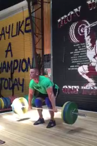 3 Videos of John Cena Working Out at the Gym