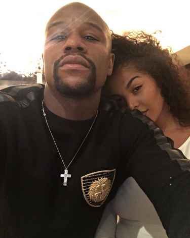 Floyd Mayweather appeared on an Instagram post with his rumored 19 year old girldfriend