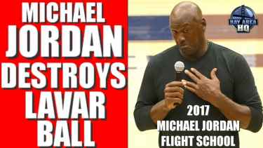 "Michael Jordan to Lavar Ball: ""Shut up, and let the kid play"""