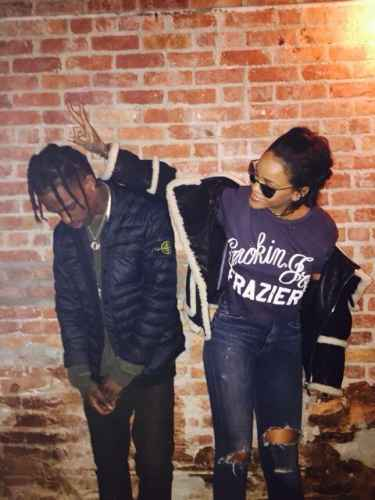 #Celebrity: Is Rihanna and Travis Scott dating?