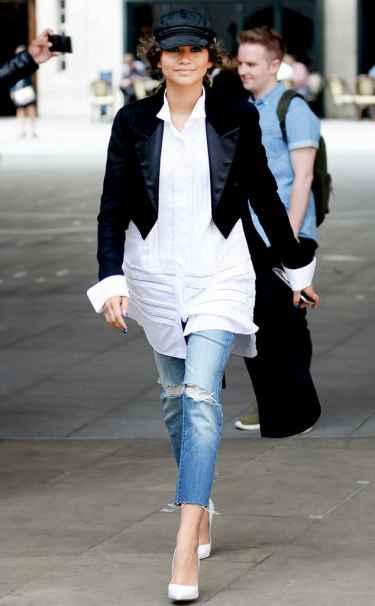 Zendaya's Favorite Shoe: Le Silla White Pump