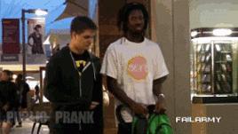 #Funny: Security Guard Public #Prank