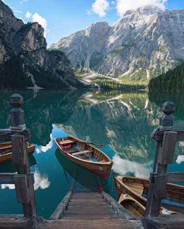 #IWannaGoHere: Lake Braies #Italy