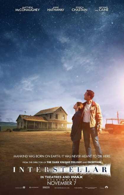 #Interstellar movie poster