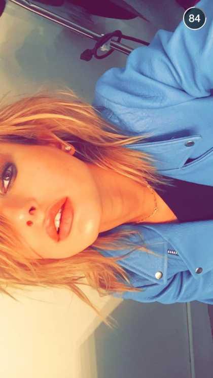 Hailey Baldwin Snapchat Username @haileybisboring #model #celebrity