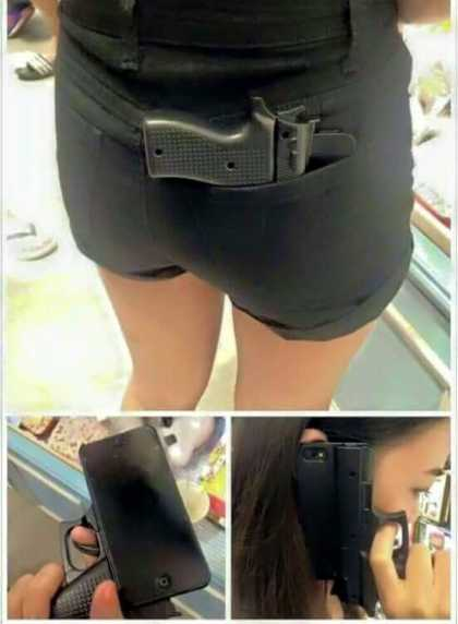 This is how you can die because of your phone cover #wtf