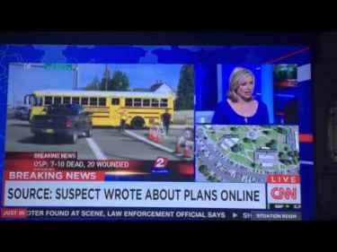 So CNN is blaming the internet for Oregon shooting, because it helps introverts interact with each other... #WTF