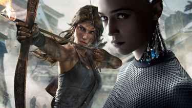 First image of Alicia Vikander as Lara Croft in Tomb Raider reboot