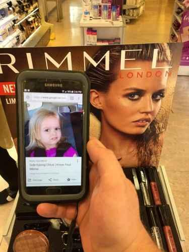 Side Eye Chloe Is Now Modeling...