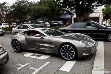 Spotted one of the rarest cars, Aston Martin One-77