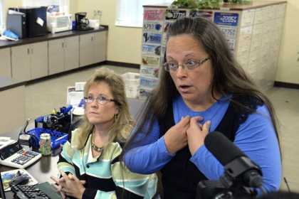 The Kentucky Clerk Who Refuse To Issue Gay Marriage Licenses Has Wed Four Times