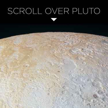 Scroll Over #Pluto
