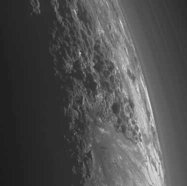 High Res Image of #Pluto's Ice Mountain Surface
