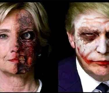 #Politics: Would you vote #HillaryClinton or #DonaldTrump?