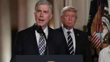 Supreme Court nominee Neil Gorsuch calls Trump's tweets 'demoralizing and disheartening'