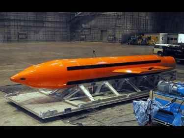 'Massive Ordnance Air Blast' (MOAB) Bomb Test