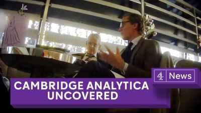 Cambridge Analytica Exposed: Secret filming reveals election tricks