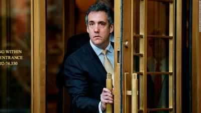 Cohen expected to plead guilty to misleading Congress about Trump real estate deal in Russia