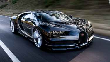 Bugatti unveiled the Chiron, the next 'world's fastest supercar'