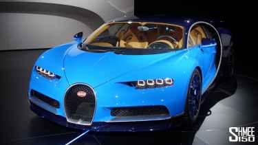 Watch The New Bugatti Chiron at Geneva 2016
