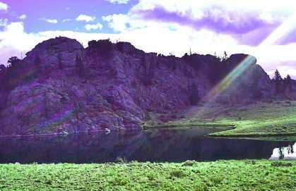 #Colorado #mountain #lake