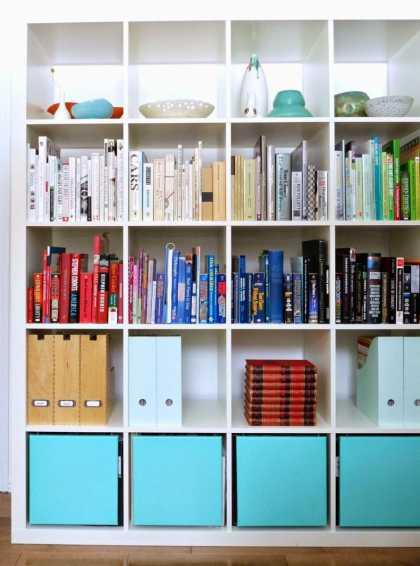 #DIY: #Ikea Expedit #Bookshelf Hack
