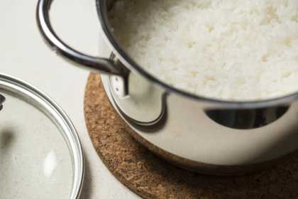 Scientists have discovered a simple way to cook rice that dramatically cuts the calories
