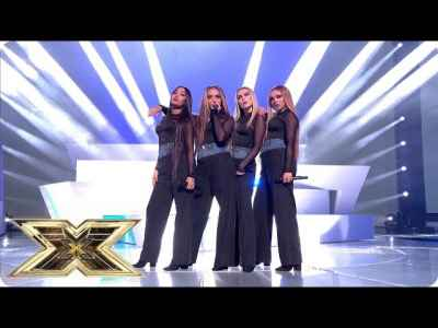#LittleMix Performs Woman Like Me   Live Shows Week 2   #TheXFactorUK