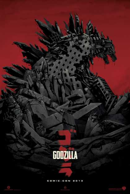 #Movies: New Godzilla 2013 Poster