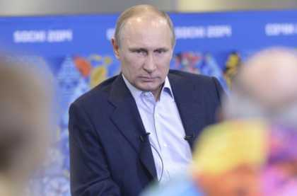 #Putin: Gay people will be safe at #Olympics if they 'leave kids alone'