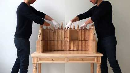 A Vanity Dresser That Transforms Into A Church