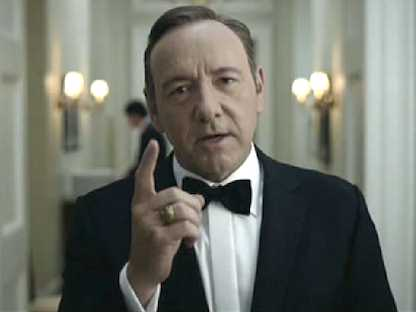 Kevin Spacey Talks Success Of 'House of Cards' On Netflix   #tech #tv #celeb