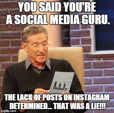 The lie detector determined... that was a lie. #Maury