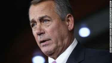 John Boehner resigning from Congress
