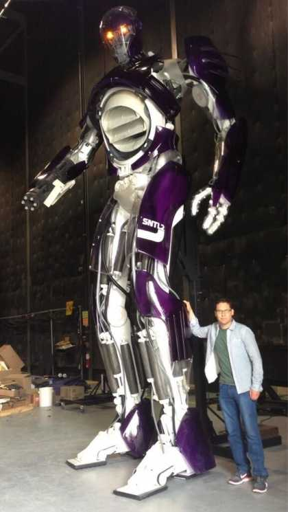 "#Movies: Sentinels From ""X-Men: Days of Future Past"""