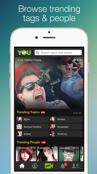YouNow - Broadcast, Chat and Watch Live Video