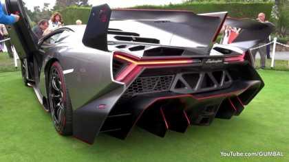 The Sound of $4.5 Million #Lamborghini Veneno